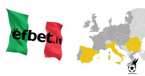 Цеките от ефбет вече и в Италия