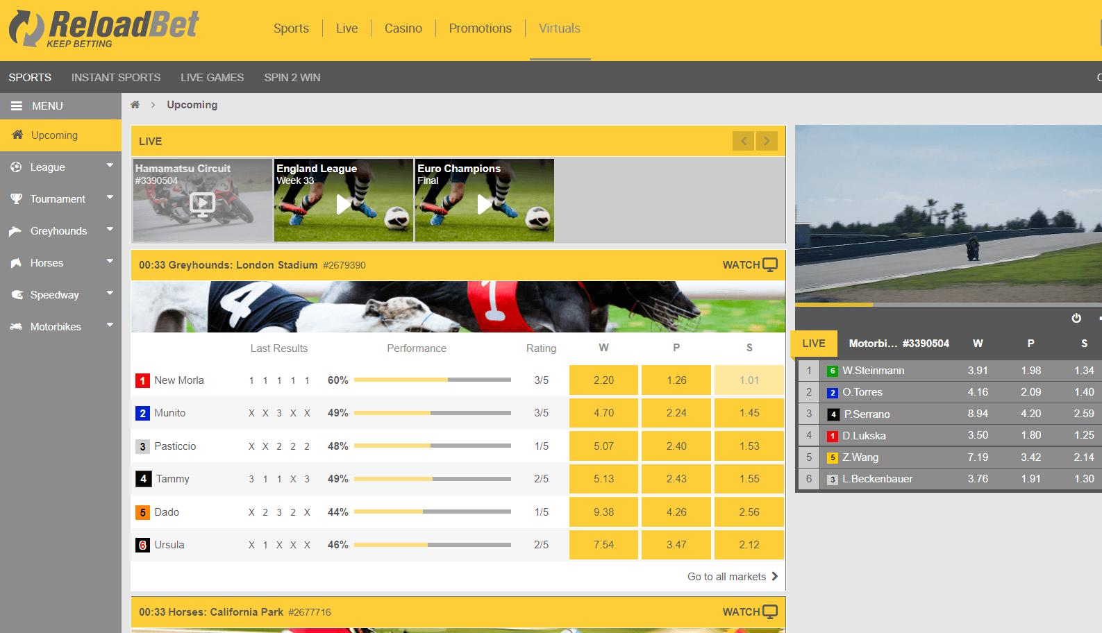 reload bet virtualni sportove-komarbet.com