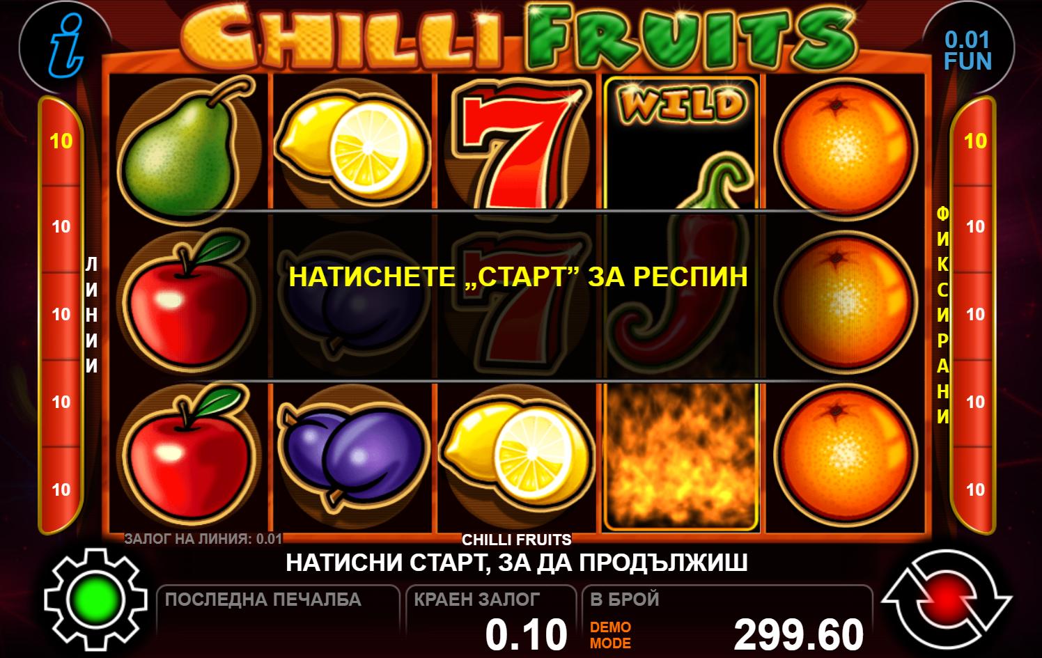 chilli fruits ct gaming-komarbet.com