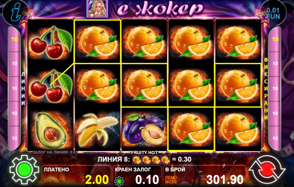 fruity hot ct gaming-komarbet.com